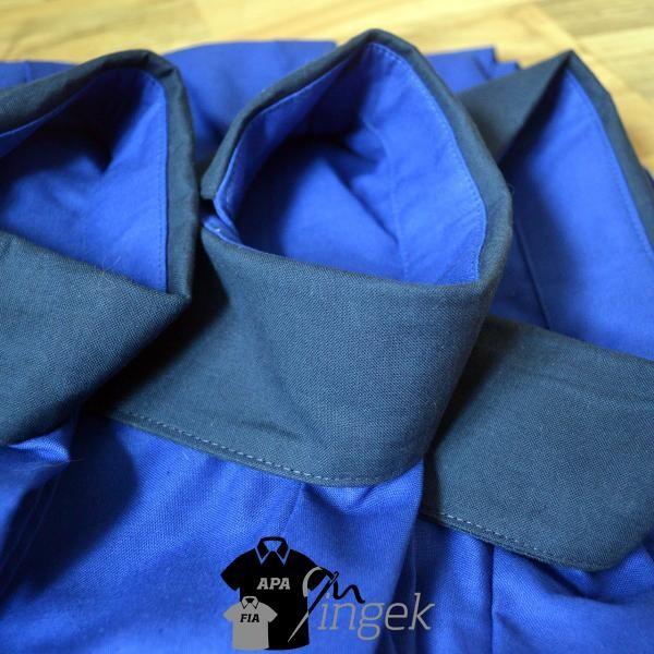 Apa Fia Ing Szett - két egyszínű anyagból, ing szett