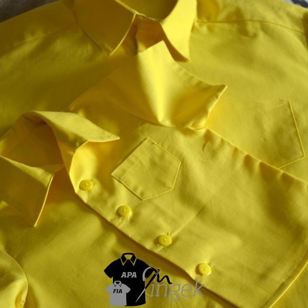 Apa Fia Ing Szett - egyszínű sárga anyagból