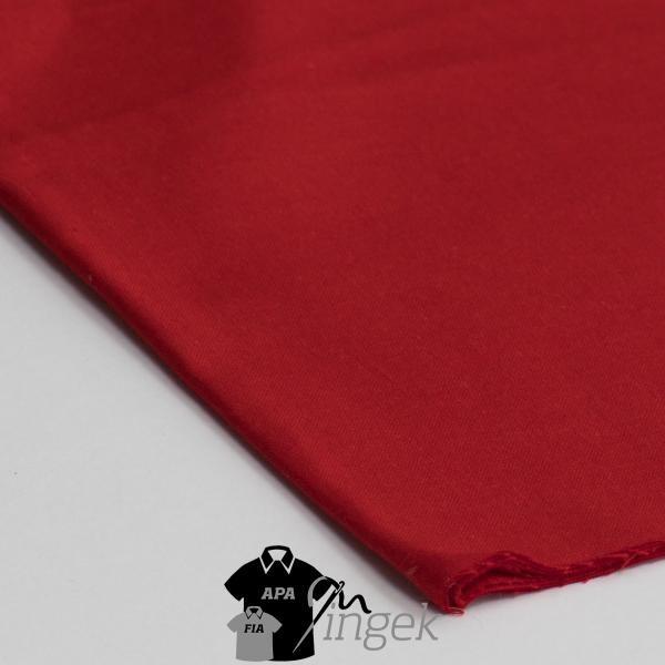 Apa Fia Ing Szett - egyszínű piros anyag