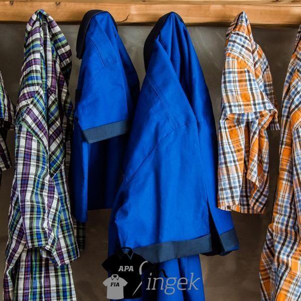 Apa Fia Ing Szett - 'Sanyi kockái' anyagból, több inggel. Készítette: N.Portré Fotóstúdió